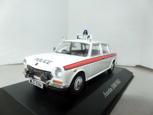 Atlas JA07 1/43 O Scale British Police Austin 1800 MkII Chesire Force